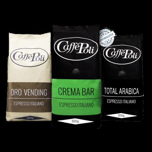 Premium Probierpaket Caffé Poli | 3 kg