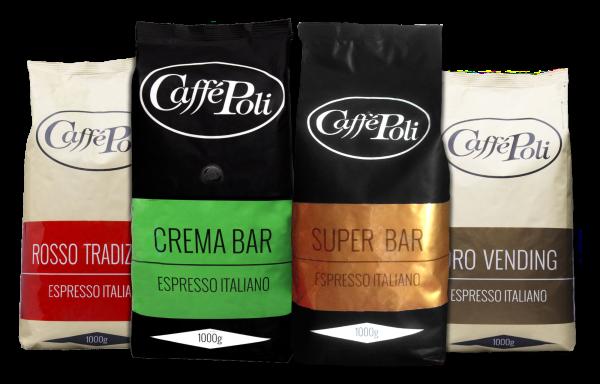 Probierpaket Caffé Poli (exklusiv für Geschäftskunden)